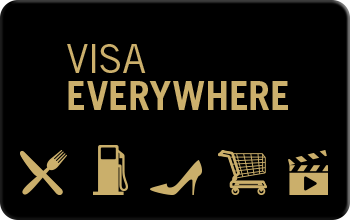 Visa Everywhere Category Card