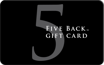Visa Five Back Gift Card